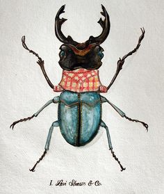 Urban Bugs by Antonio Rodrigues Jr, via Behance