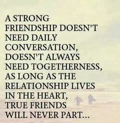 OMG  i have a freind in NY going on 40yrs & another in Ill. goibg on 30yrs....all we have to do is pick up the phone & it becomes yesterday agsin. Hold on tight if you have a friendship like this...