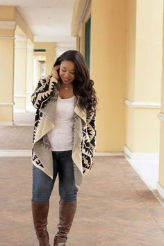 Plus Size Fashion from Carmen Renee | Check out her Fashion To Figure OOTD