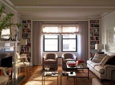 more floor to ceiling shelves :)