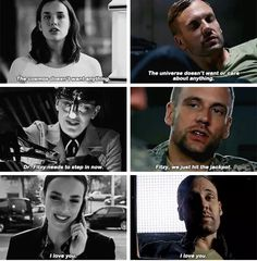 Marvel's Agents of S.H.I.E.L.D. Season 5 Episode 5 aside from Daisy. Hunter is FitzSimmons second biggest fan