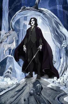 Severus Snape by Sally-Avernier.deviantart.com on @deviantART