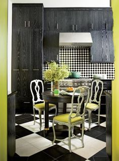 A great eclectic mix. Contemporary Kitchen in New Orleans, Louisiana
