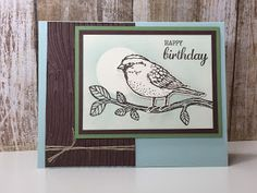 Paper, Pansies and Pachyderms: Best Birds and Birds & Blooms, Stampin' Up!