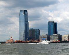 Goldman Sachs Office Tower, Hudson River, Jersey City, New Jersey