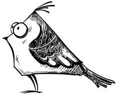 10.19 crazy bird stamp, 6 total tim holtz