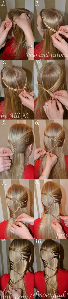 DIY Cool S Hairstyle | www.FabArtDIY.com LIKE Us on Facebook ==> https://www.facebook.com/FabArtDIY