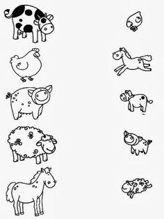 Z internetu - Sisa Stipa - Picasa Web Albums Más Toddler Learning Activities, Animal Activities, Fun Learning, Preschool Activities, Free Kindergarten Worksheets, Printable Preschool Worksheets, Farm Lessons, Farm Unit, Pre Writing