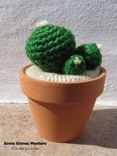 Cactus Espinas Amigurumi - Patrón Gratis en Español aquí: http://ainoslabores.blogspot.de/2013/05/cactus.html