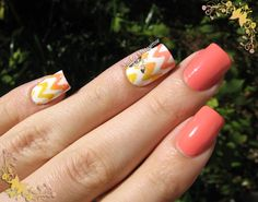 Pretty design with French tip>> http://www.ladyqueen.com/new-chic-diy18-style-french-manicure-nail-art-tips-tape-sticker-guide-nail-sticker-na0451.html
