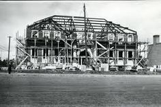 The Red Deer Court House construction 1931 Red Deer, AB Red Deer Alberta, Old Buildings, Under Construction, Historical Photos, The Past, Old Things, Louvre, History, Architecture