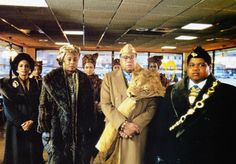 sheila johnson coming to america wardrobe | COMING TO AMERICA, from left, Sheila…