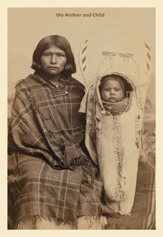 Ute Mother and Child