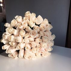 Boquette Flowers, Luxury Flowers, My Flower, Fresh Flowers, Planting Flowers, Beautiful Flowers, Wedding Flowers, White Roses, White Flowers