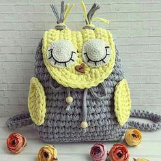 27 Ideas Crochet Basket Pattern Tshirt Yarn How To Make Crochet Pour Halloween, Sac Halloween, Knit Headband Pattern, Crochet Basket Pattern, Crochet Handbags, Crochet Purses, Crochet Flower Headbands, Crochet Backpack, Baby Knitting