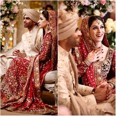 This wedding from Pakistan is breaking the internet! Pakistani Wedding Outfits, Bridal Lehenga Choli, Pakistani Bridal Dresses, Pakistani Wedding Dresses, Bridal Outfits, Nikkah Dress, Wedding Hijab, Indian Outfits, Wedding Bride