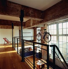 remarkable wood mezzanine construction plan with interior red brick wall also old barn decorating ideas of apartments ~ home and garden inspiration