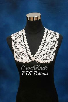 Check out this item in my Etsy shop https://www.etsy.com/listing/229067081/crochet-collar-pattern-pdf-downloadable
