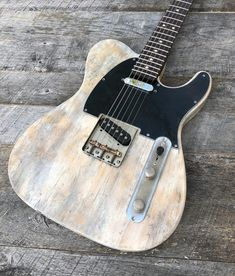 The guitars in this gallery are sold, but will give you an idea of what can be done. Occasionally in-stock guitars for sale will be featured and noted as available. Telecaster Custom, Fender Telecaster, Guitar Diy, Cool Guitar, Fender Electric Guitar, Guitars For Sale, Guitar Building, Guitar Pedals, Playing Guitar