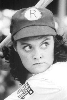 Megan Cavanagh as Marla Hooch (#32, second base) ~ A League of Their Own