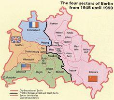Allied sectors of Berlin