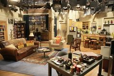 Sheldon Cooper and Leonard Hofstadter's apartment from The Big Bang Theory. | Community Post: 18 TV Apartments And Houses You Wish You Lived In