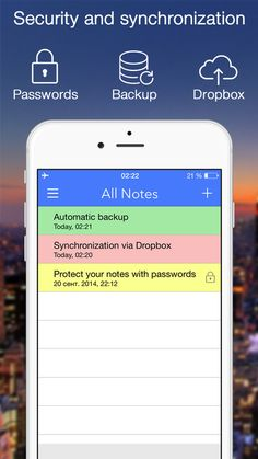 Notes Note-Ify: Colorful notes with Reminders TextExpander and Dropbox synchronization on App Store:   FREE within 2 days. Additionally NOTE-IFY NOTES for MAC PRICE DROP $11.99 -> $1.99 Note-Ify Notes - is a simple and convenient note-taking ap...  Developer: Sergii Gerasimenko  Download at http://ift.tt/1tuDu31