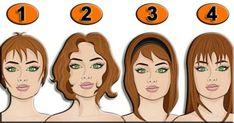 Krátký, ale tak přesný psychologický test! Vyberte si účes, který se vám nejvíce líbí!