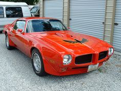 1973 Pontiac Trans Am. Awesome American Classic Muscle Car!