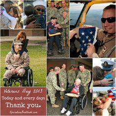 Ways to Thank Veterans EVERYDay -- not just on #VeteransDay