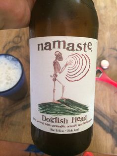 """Dogfish Head """"Namaste"""" Whitbier"""