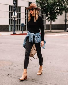 Style Année 80, Mode Style, Fall Outfits, Casual Outfits, Cute Outfits, Jacket Outfit, Casual Chic, Fashion Jackson, Denim Jeans