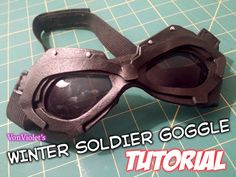 Winter Soldier goggle tutorial
