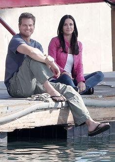 Brian Van Holt Photos: Brian Van Holt and Courteney Cox in Marina Del Rey