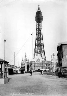 Poster Print-New Brighton Tower poster sized print mm) made in the UK Blackpool Uk, Liverpool Street, Liverpool History, Tower Building, New Brighton, English Heritage, Victorian Architecture, Old Photos, Photo Mugs