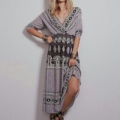 PRICE IS FINAL Free People dress NWT NWT SZ XS (can also fit S). Colors are black grey and white. V can be worn in front or back, as shown on models. ALSO AVAILABLE IN THE ROYAL COLOR COMBO IN XS. Free People Dresses