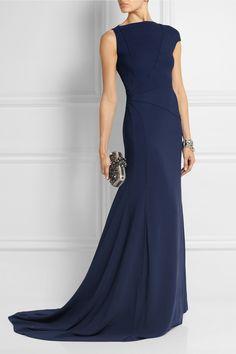 Vionnet|Asymmetric stretch-crepe gown