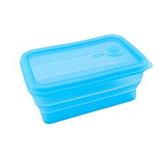 Square Silicone Collapsible Travel Camping Bowl Outdoor Bowl1LLightblue ** To view further for this item, visit the image link.