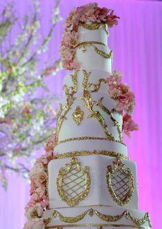 Tiered Regal Wedding Cake