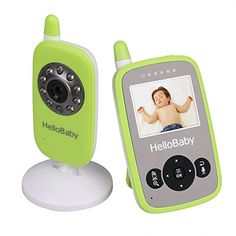 Baby Monitor Video HelloBaby Infant Camera Night Vision Temperature Monitors >>> Details can be found by clicking on the sponsored image. Baby Sounds, Baby Gadgets, Wireless Camera, Baby Monitor, Baby Health, Digital Audio, Baby Safety, Baby Shark, Health And Safety