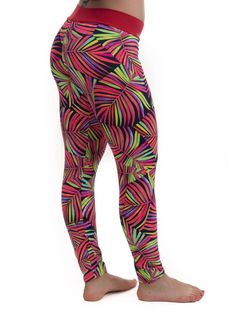 Camboriú – 80s palm tree leggings