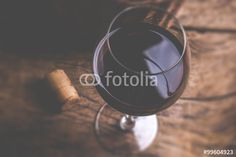 red wine glass - tilt shift selective focus effect vintage style photo #wine #winery #cantina #foodanddrink #drink #st#stock #stockphotography #red #redwine #