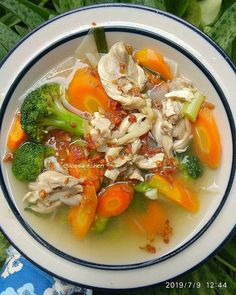Asian Recipes, My Recipes, Soup Recipes, Cooking Recipes, Favorite Recipes, Ethnic Recipes, Recipies, Real Girls Kitchen, Indonesian Food