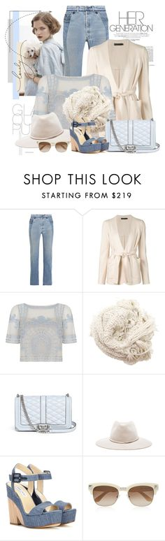 """""""Sem título #2523"""" by bellerodrigues ❤ liked on Polyvore featuring Vetements, Calvin Klein Collection, Temperley London, Hat Attack, Rebecca Minkoff, rag & bone, Jimmy Choo and Valentino"""