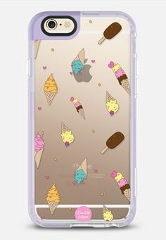 Ice Cream - iPhone 6 case in Lavender Violet by @vaidadta   @casetify
