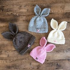** KNITTING PATTERN ONLY ** to knit a Rustic Bunny Toque Sizes : Preemie/Newborn up to 3 months( 3-6 months,6 months to 1 yr, 1-2 yrs, 2-4 yrs, 4-8 yrs) Skill level: Intermediate ( you should already have a good understanding of basic knitting skills ) Materials, notions, and