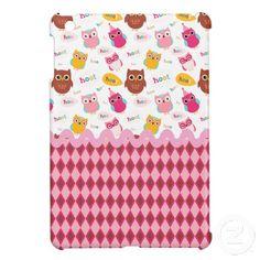 Birthday Owls Case For The iPad Mini