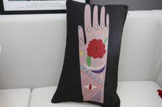 Mystical hand Cushion Cover - $30.00 + Shipping Costs 30 x 50cm  Email marisa@ayuhome.com to order