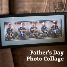 Father's Day Photo Collage Ideas - Mama Say What?!