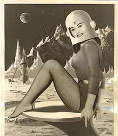 Vintage Lunar Art | pundit from another planet